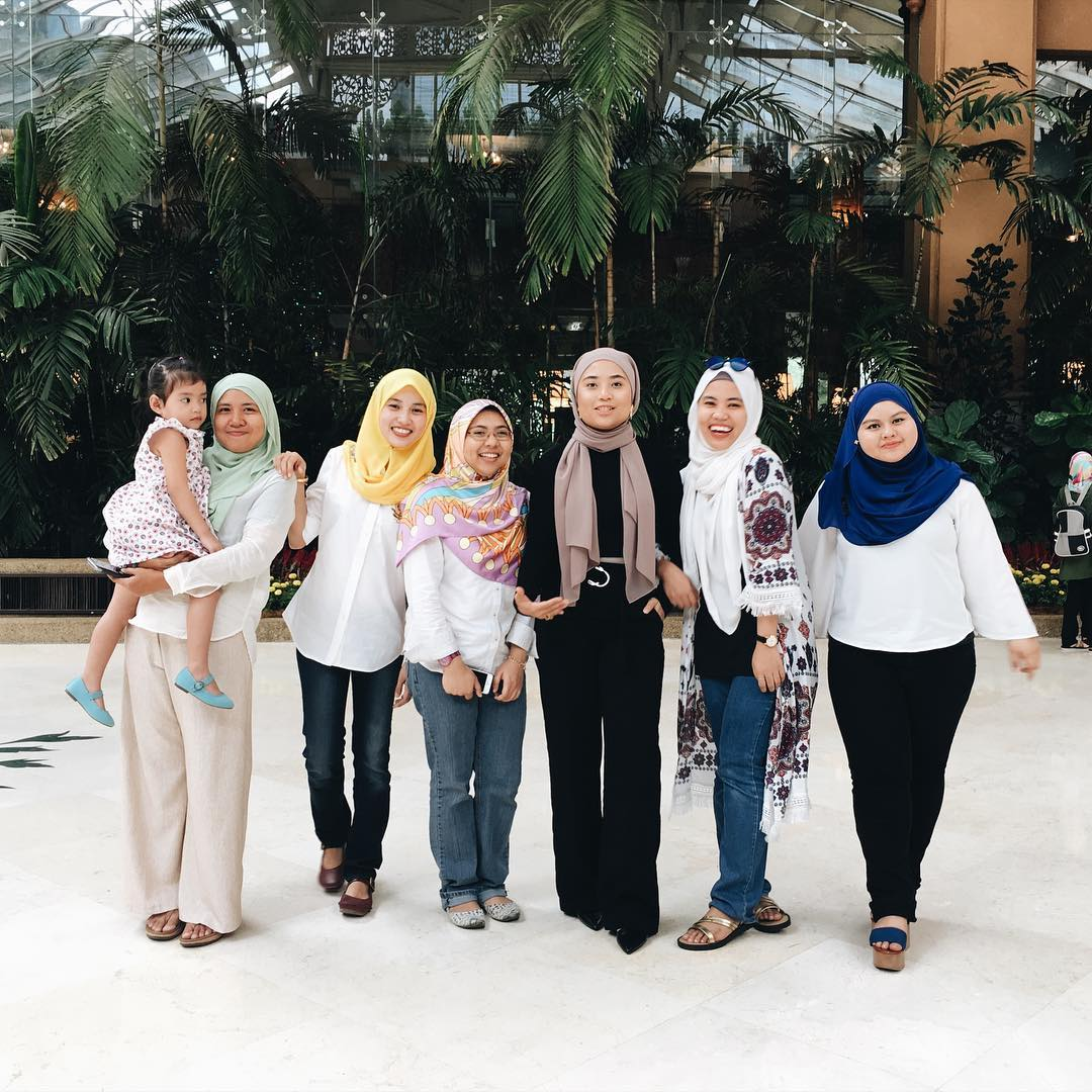 January 7th 2017 High tea with the colleagues